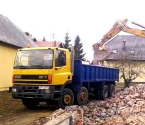 daf ciężarówka