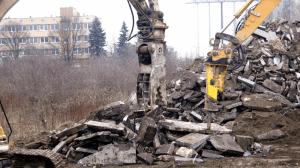 wyburzenia kucie betonu