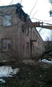 rozbiórka szkoły