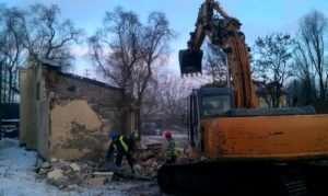 rozbiórki budynków