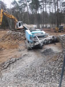 wyburzanie fundamentów warszawa